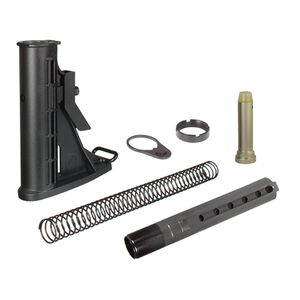 Leapers UTG PRO AR-15 Mil-Spec 6 Position Collapsible Stock Assembly Black RBU6BM