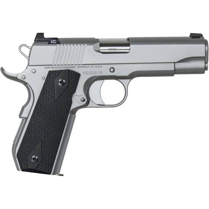 Dan Wesson 1911 V-Bob Commander Semi Auto Pistol 9mm Luger 4 25