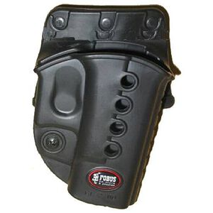 Fobus Evolution Belt Holster for GLOCK 17, 34 and 19 Right Hand Black