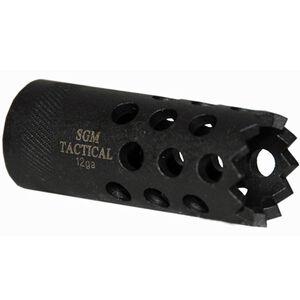 SGM Tactical Saber Boss Saiga 12 Gauge Muzzle Brake Matte Black