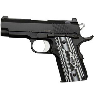 "Dan Wesson ECO 1911 9mm 3.5"" Bull Barrel 7 Rds G10 Grips"