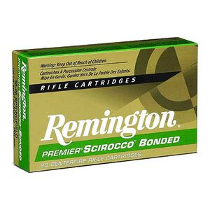 Remington Premier Scirocco Bonded 7mm RUM Ammunition 150 Grains Polymer Tipped 3325fps