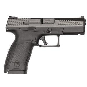 "CZ P-10 C Suppressor-Ready 9mm Semi Auto Pistol 4.61"" Barrel 10 Rounds High Night Sights Matte Black Finish"