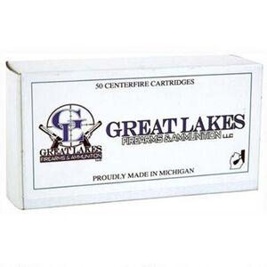 Great Lakes Ammunition 10mm Auto Ammunition 50 Rounds CMJ 180 Grains Remanufactured A686750