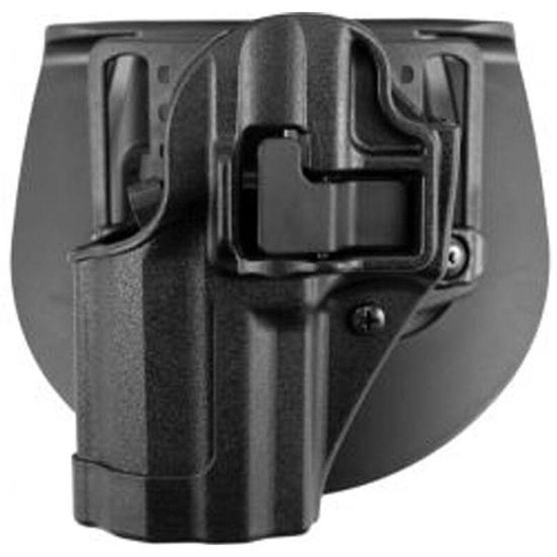 BLACKHAWK! SERPA CQC GLOCK 42 Holster Left Hand Black Matte Finish 410567BK-L