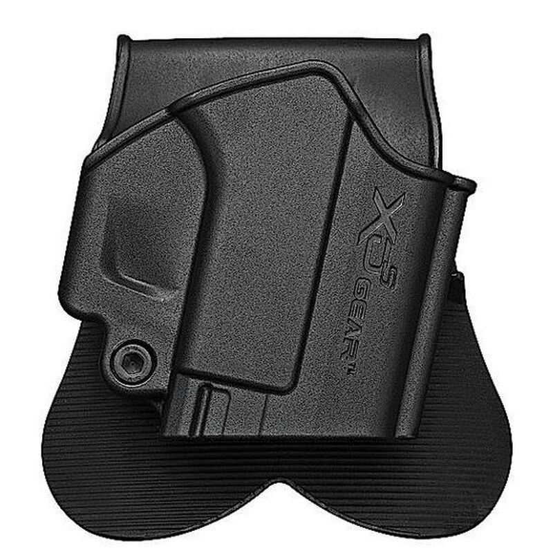 Springfield Armory XD-S Paddle Holster Right Hand Polymer Black XDS4500H