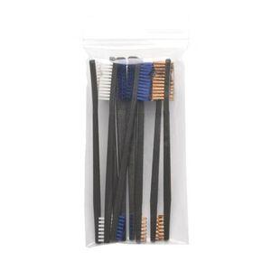 Otis Variety Pack AP Brushes(3 Nylon/3 Blue Nylon/3 Bronze)