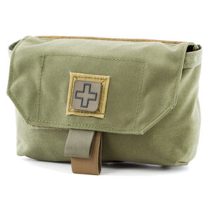 Eleven 10 CAB Med Pouch Belt/MOLLE Compatible Nylon Ranger Green
