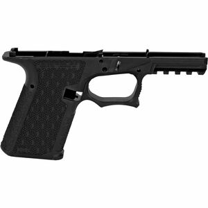 Grey Ghost Precision Combat Pistol Frame Compact GLOCK 19 Gen 3 Style Serialized Stripped Pistol Frame Black