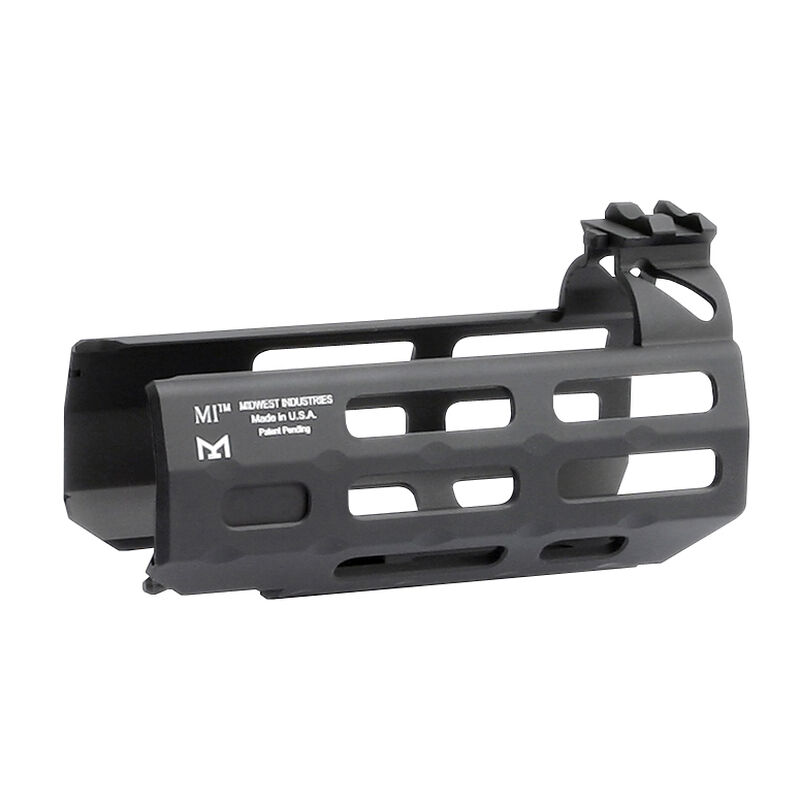 """Midwest Industries SIG Sauer MPX 4.5"""" One Piece Drop In M-LOK Compatible Hand Guard 6061 Aluminum Hard Coat Anodized Finish Matte Black"""