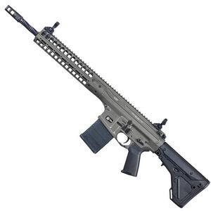 """LWRC R.E.P.R MKII Piston Semi Auto Rifle .308 Win/7.62 NATO 16"""" Spiral Fluted Barrel 20 Rounds Free Float Hand Guard Magpul Stock/Pistol Grip Tungsten Grey"""