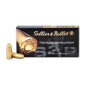 Sellier & Bellot .32 ACP Ammunition 50 Rounds FMJ 73 Grains SB32A