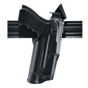 Safariland 6360 SIG Sauer P320C with X300U Mid-Ride ALS/SLS Duty Holster Right Hand Basketweave Black