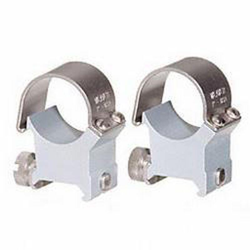 "Weaver Detachable Top Mount Rings 1"" X-High Steel/Aluminum Silver"