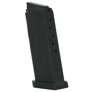 Jagemann Sporting Group GLOCK 42 Slimline Sub Compact Magazine .380 ACP 6 Round Capacity Polymer Construction Matte Black Finish