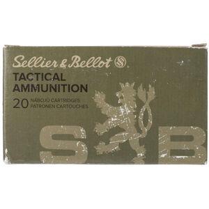 Sellier & Bellot .30-06 Springfield M1 Garand Ammunition 20 Rounds FMJ 150 Grains
