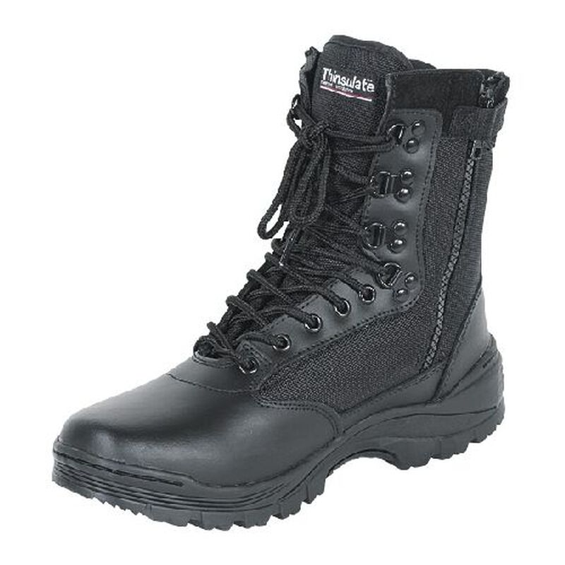"""Voodoo Tactical 9"""" Tactical Boots Nylon/Leather Size 9.5 Regular Black 04-837901095"""