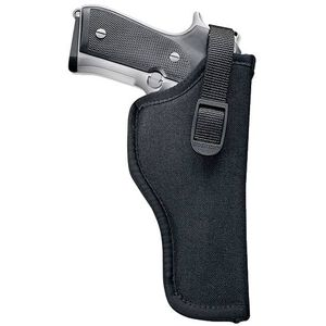 "Uncle Mike's Sidekick Hip Holster 3.5""-4.5"" Barrel Large Frame Semi Autos Left Hand Nylon Black 81152"