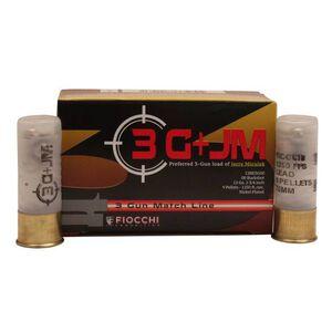 """Fiocchi 3 Gun Match 12 Gauge Ammunition 5 Rounds, 00 Buck 2-3/4"""", 9 Pellets, 1250 FPS"""