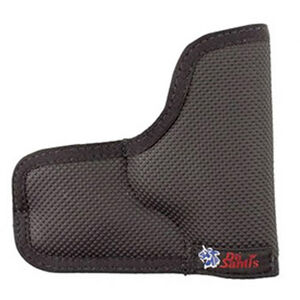 DeSantis Nemisis Pocket Holster For GLOCK 43 Ambidextrous Nylon Black N38BJ8BZ0