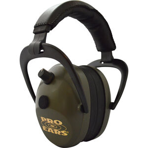Pro Ears Gold II 26 Electronic Hearing Protection 26 dB Green