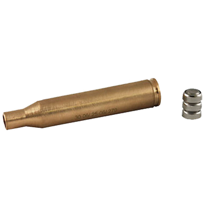 Aim Sports Inc. Red Laser Bore Sight Sighting Tool .30-06/.25-06/.270 Scopes/Adjustable Sights Brass Cased Natural Finish