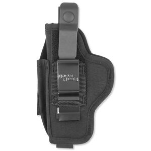 Uncle Mike's Sidekick Hip Holster Large Autos Ambidextrous Nylon Black 70150
