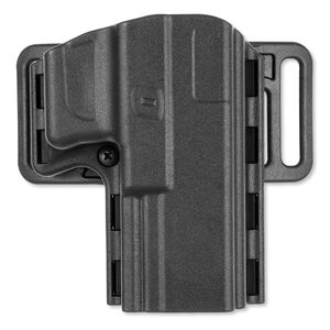 Uncle Mike's Reflex Belt Holster For Glock 17/19/22/31/32 Right Hand Kydex Black 74211