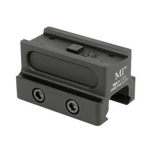 Midwest Industries Aimpoint T-1 Co-Witness Mount 6061-T6 Aluminum Matte Black