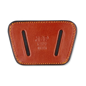 JBP Belt Slide Holster Leather Brown 035T