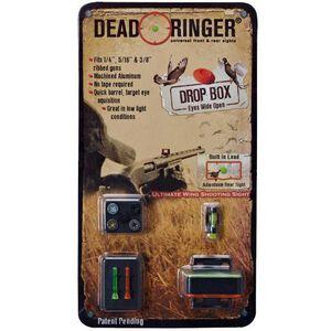 Dead Ringer Drop Box Shotgun Sight For Ribbed Shotguns DR4454