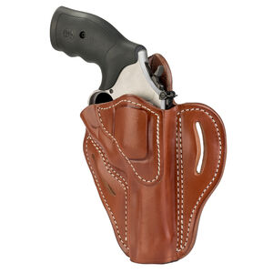 1791 Gunleather RVH-2S OWB Belt Holster for K Frame Revolvers Right Hand Draw Leather Classic Brown
