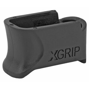 XGrip GLOCK 42-9 Magazine Adapter Spacer for ETS 9 Round .380 Magazines to Install Into GLOCK 42 Frame Matte Black Finish
