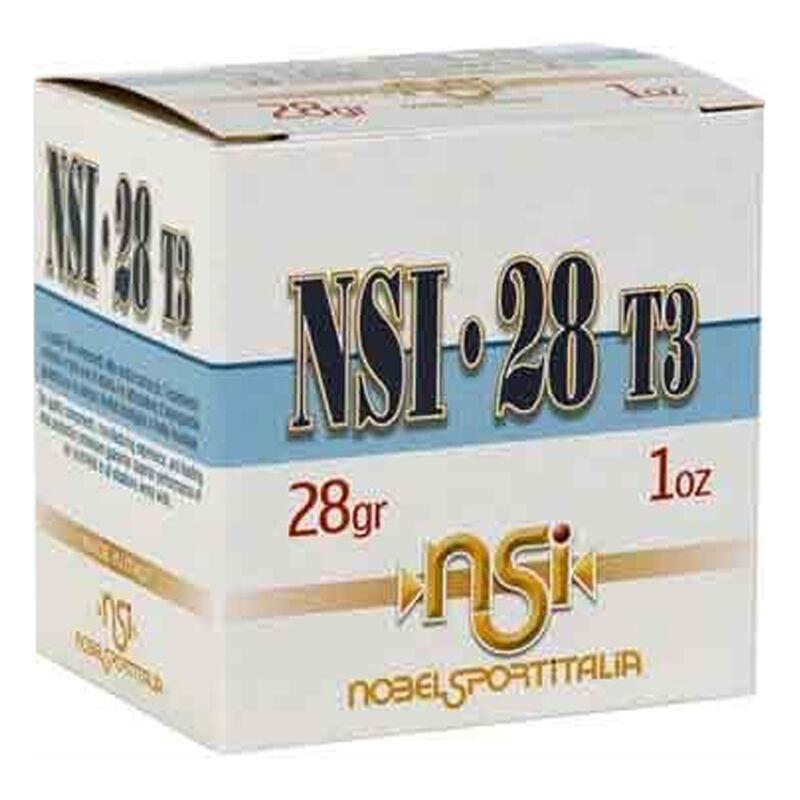 """NobelSport 28 Gauge Ammunition 25 Rounds 2-3/4"""" #7.5 Lead Shot 1oz"""