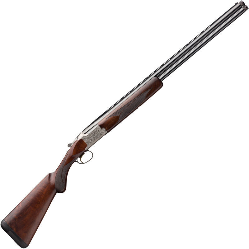 "Browning Citori White Lightning .410 Bore O/U Break Action Shotgun 28"" Vent Rib Barrels 3"" Chamber 2 Rounds Walnut Stock Silver Receiver with Blued Barrel Finish"