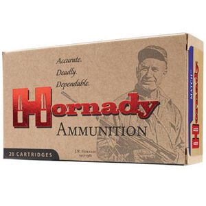 Hornady Match .300 Winchester Magnum Ammunition 20 Rounds BTHP 195 Grains 8218