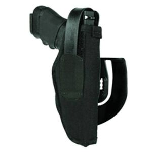 "BLACKHAWK! Paddle Holster #16 Large Autos 3.25""-3.75"" Barrel Right Hand Nylon Black"