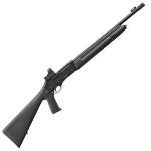 "EAA Akkar Churchill 220 Optics Tactical 20 Gauge Semi-Auto Shotgun 18.5"" Barrel 5 Rounds FO Front Sight with Red Dot Synthetic Pistol Grip Stock Blued/Black Finish"