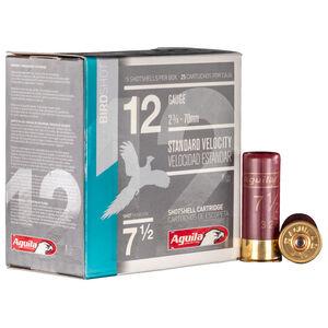 """Aguila Standard Velocity Field 12 Gauge Ammunition 2-3/4"""" Length 1-1/8 Ounce #7.5 Shot 1200fps"""