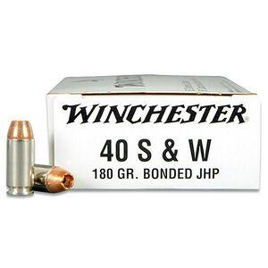Winchester Ranger Q4369 .40S&W Ammunition 50 Rounds 180 Grain Bonded JHP 985fps