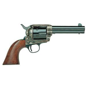 "Taylor's & Co 1873 Cattleman Revolver 357 Mag 4.75"" Barrel 6 Rounds Walnut Grip Blued"