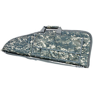 """NcSTAR Rifle Case 46"""" Padded Synthetic Fabric Digital Camo"""