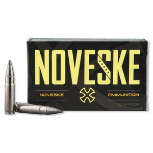 Noveske .300 Blackout Ammunition 20 Rounds Nosler FBPT 110 Grains 52228