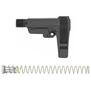 CMMG Ripbrace Micro/CQB AR-15 Receiver Extension/Brace Kit Polymer Matte Black
