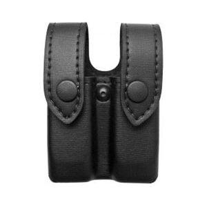 "Safariland Model 72 Magazine/Cuff Pouch Top Flap 2.25"" Belt Loop Glock/H&K/S&W/Springfield Ambidextrous Plain Black 72-83-2"