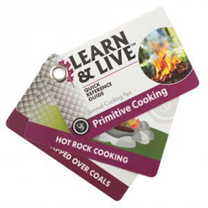 Ultimate Survival Technologies Learn & Live Cooking Card Set 20-02744