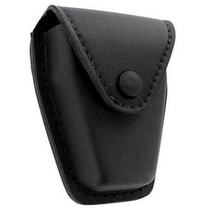 Safariland Model 190 Handcuff Pouch Hinged Cuffs Top Flap Black Snap SafariLaminate Nylok-Look Tactical Black 190H-13PBL