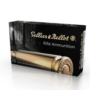 Sellier & Bellot 7mm Rem Mag Ammunition 20 Rounds 173 Grain Soft Point Cutting Edge Projectile 2,790fps