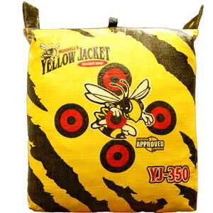 "Morrell Targets Yellow Jacket YJ-350 Crossbow Field Point Target 20"" X 16"" X 20"" Offset Bullseyes"