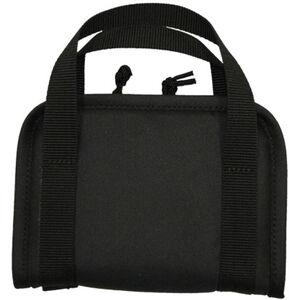 """Bob Allen Tactical Handgun Case 7.75""""x5.5""""x1.25"""" Synthetic Fabric Black"""